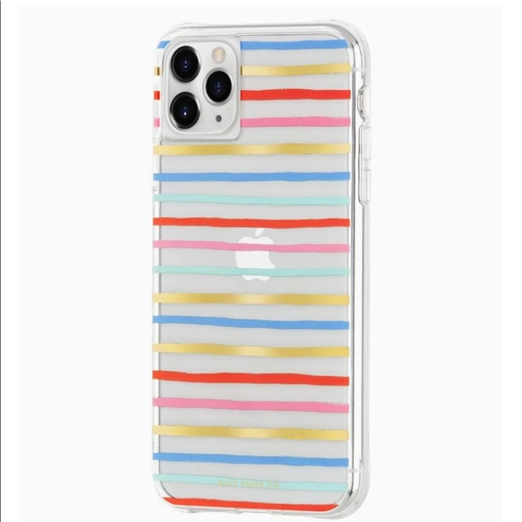 "RIFLE PAPER HAPPY STRIPES IPHONE 11 PRO / 5.8""CASE"